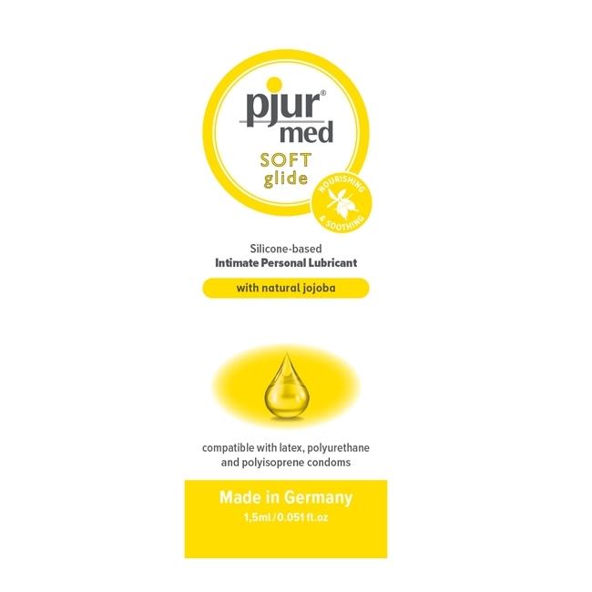 Pjur Med SOFT Ultra Kaliteli Kayganlaştırıcı Jel 1.5 Ml (Tek Kullanımlık)