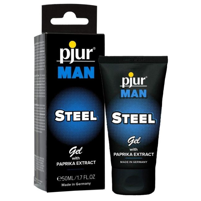 Pjur Men Steel Gel Made İn Germany