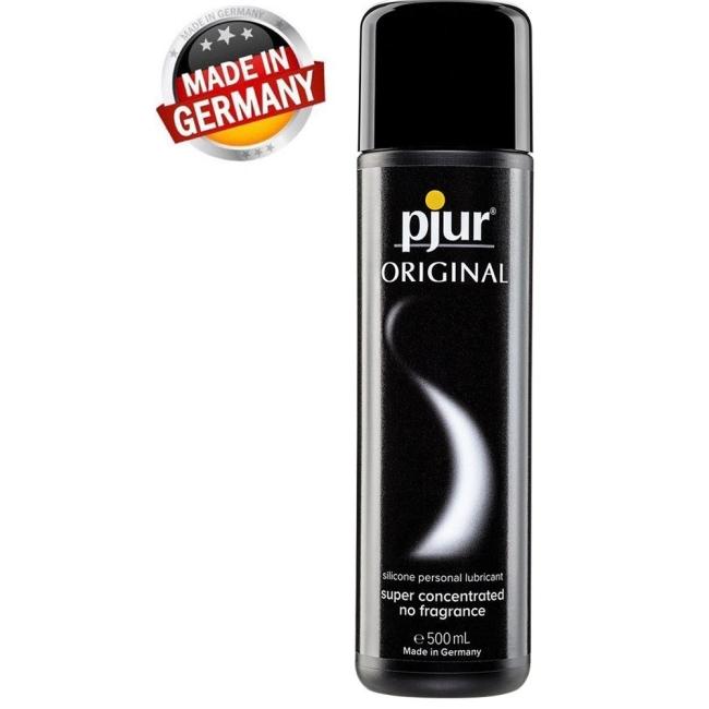 Pjur Original 500 Ml Silikon Bazlı Yüksek Kaliteli Kayganlaştırıcı Jel