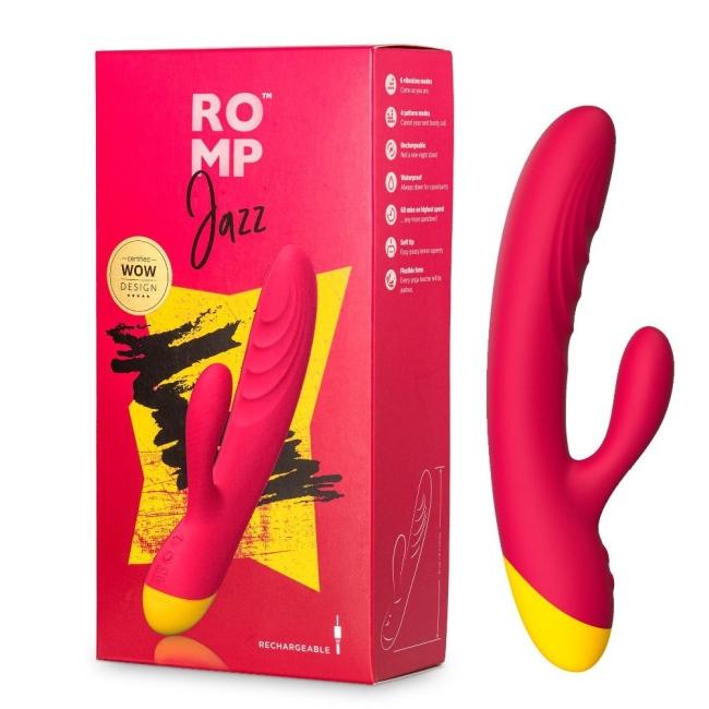ROMP Jazz Rabbit Vibrator