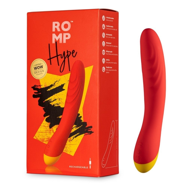 ROMP Hype Şarj Edilebilir G-Spot Yüksek Kaliteli Vibratör