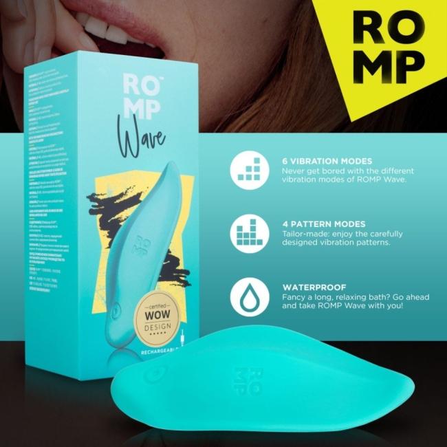 ROMP Wave Clitoral Masaj ve Orgazm Vibratörü