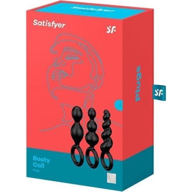 Satisfyer Booty Call Silikon 3 Lü Anal Set
