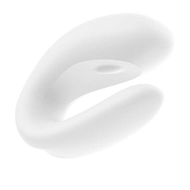 Satisfyer Double Joy White Telefon Kontrol Çiftlere Özel Vibratör