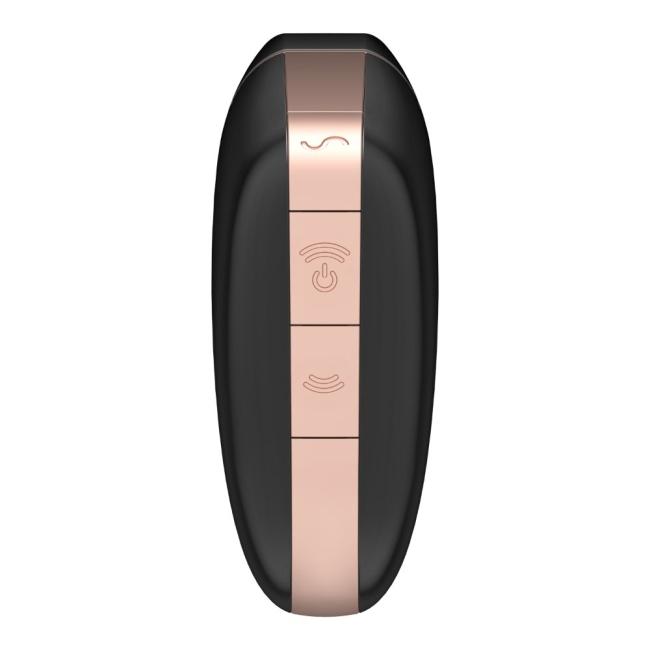 Satisfyer Love Triangle Black Klitoris Stimülatörü ve App Kontrol Titreşimli Vibratör