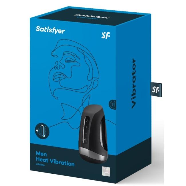 Satisfyer Men Heat Vibration Otomatik Isıtmalı 11 Modlu Titreşimli Mastürbatör