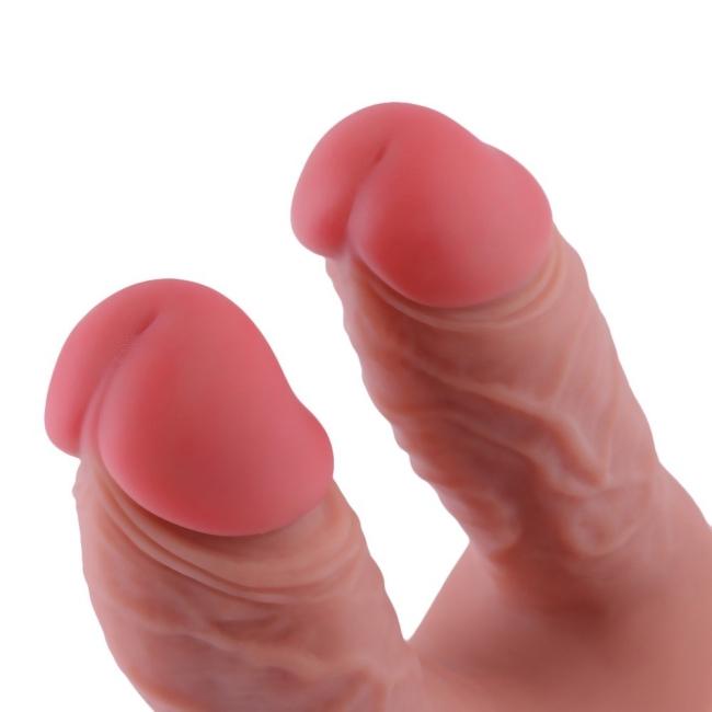 Hismith Seks Makineleri İçin Tasarlanmış Ultra Yumuşak ve Gerçekci Double Penis Aparatı