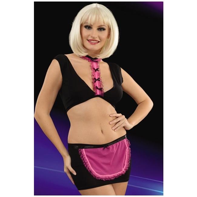 Seksi Bayan Fantezi Hizmetçi Kostümü