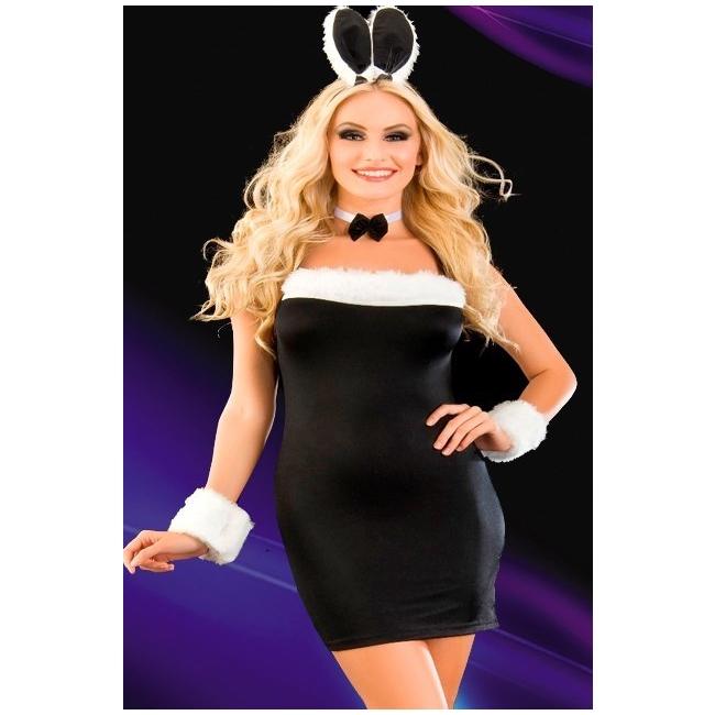 Seksi Bayan Fantezi Tavşan Kostümü