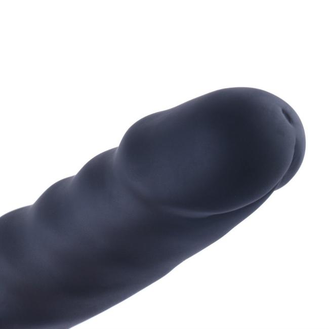 Hismith Sex Makineleri İçin Tasarlanmış 17 Cm Anal ve Vajinal Zenci Silikon Penis