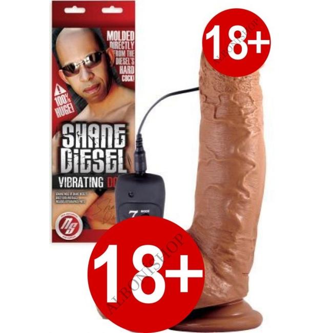 Shane Diesel Realistik Titreşimli Dildo Made İn U.S.A