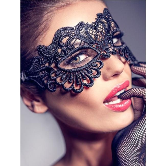 Şık Dantel Göz Maskesi