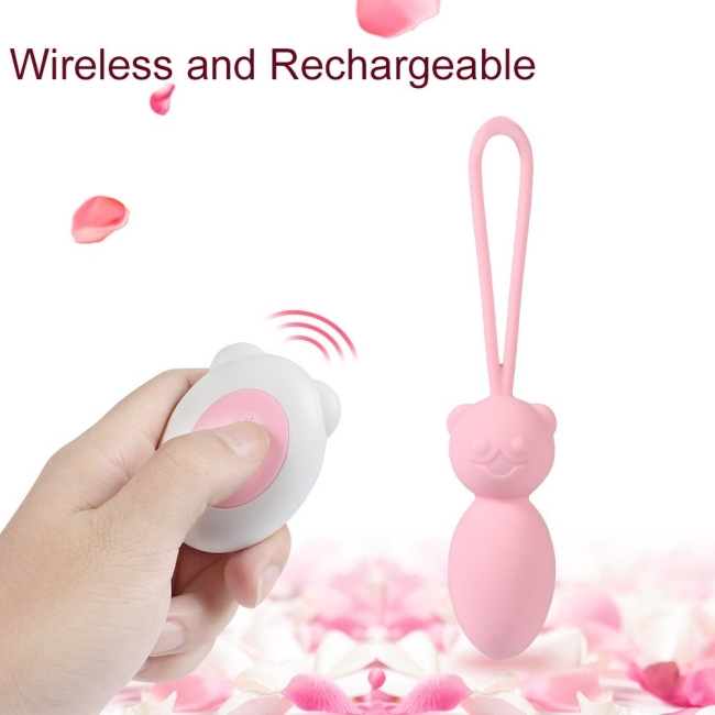 Soft Pürüzsüz Silikon Uzaktan Kumandalı Şarjlı Mini Vibratör