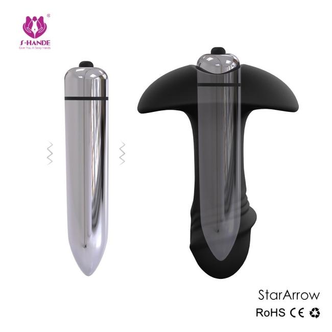 Stararrow Güçlü Titreşimli Anal ve Vajinal Titreşimli Mini Vibratör