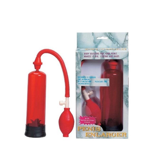 Süper Penis Pompası Kırmızı