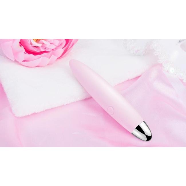 Svakom Daisy Şarjlı 3 Modlu Titreşimli Klitoris Uyarıcı Su Geçirmez Pembe Vibratör