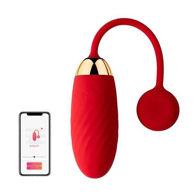 Svakom Ella Neo Serisi Telefon Kontrol UzaK Mesafe&WebCam Uyumlu  Vibratör (Kutusuz Sıfır Ürün)