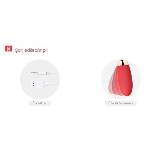 Svakom Ella Neo Serisi Telefon Kontrol UzaK Mesafe&WebCam Uyumlu  Vibratör