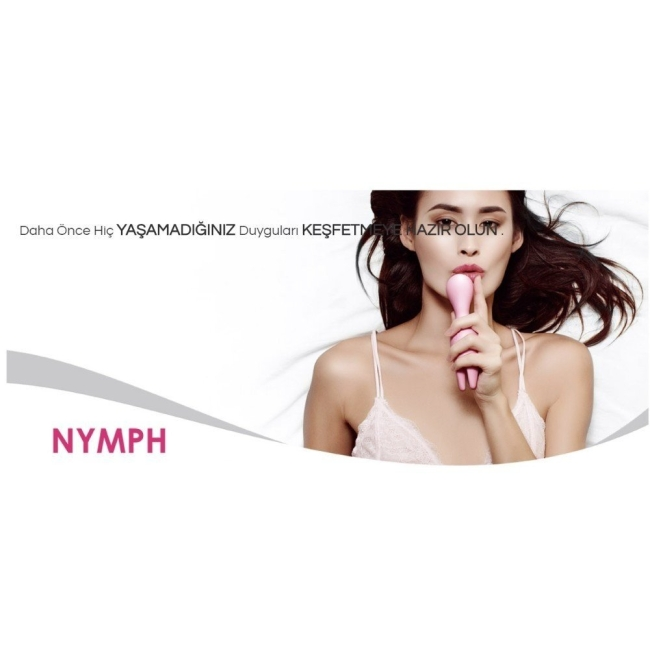 Svakom Nymph Su Geçirmez Yumuşak Hareketli Uyarıcı Parmak Vibratörü (Kutusuz Sıfır Ürün)