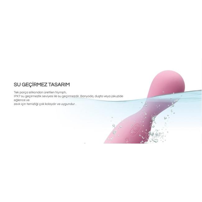 Svakom Nymph Su Geçirmez Yumuşak Hareketli Uyarıcı Şarjlı Parmak Vibratörü