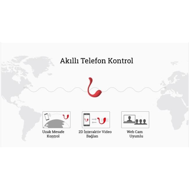 Svakom Phoenix Neo Yeni İnteraktif Telefon Kontrol Vibratör