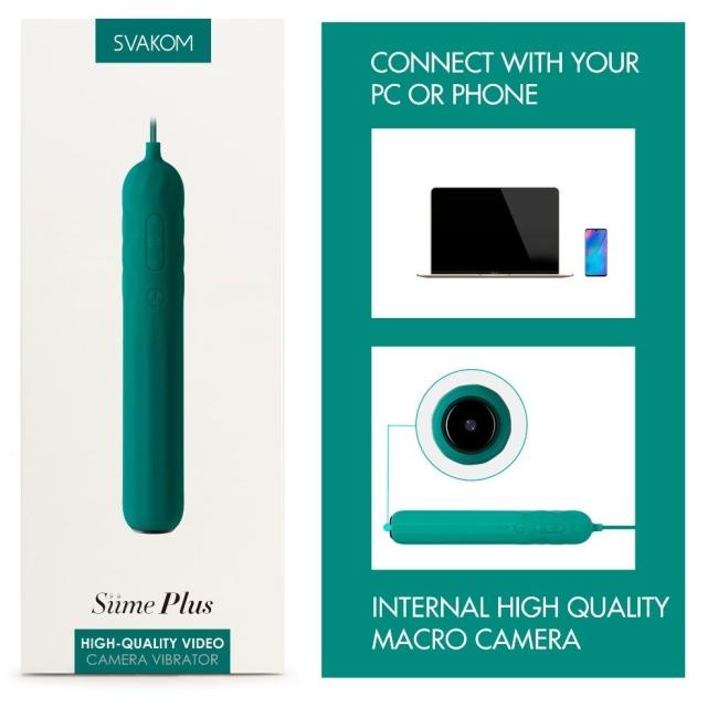 Svakom Siime Plus Yüksek Kaliteli Video Kamera Vibratörü