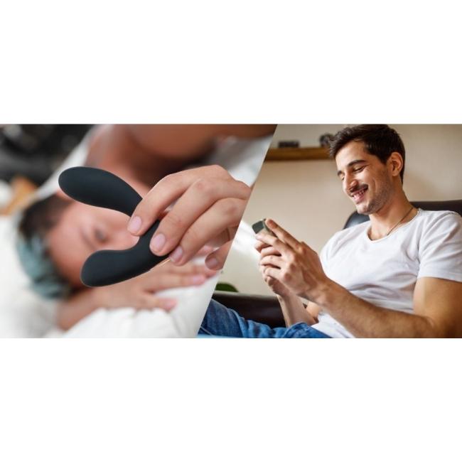 Svakom Vick Neo Telefon Kontrollü Prostat Uyarıcı Anal Vibratör (Kutusuz Sıfır Ürün)