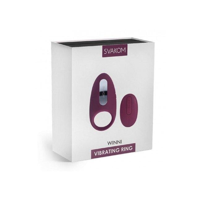 Svakom Winni 26 Farklı Titreşimli Kumandalı Giyilebilir Vibratör ve Penis Halkası
