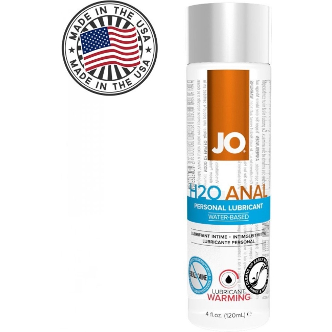 System Jo Warming 120 Ml Anal Kayganlaştırıcı Jel-Made İn USA