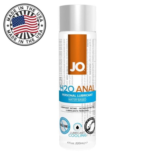System Jo Cooling Rahatlatıcı Anal 120 Ml Kayganlaştırıcı Jel-Made İn USA