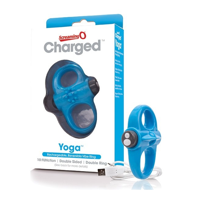 The Screaming O - Charged Yoga Titreşimli Penis Halkası