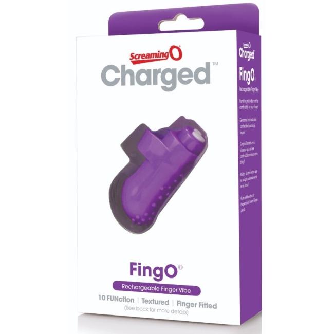The Screaming O Charged FingO Finger Parmak Vibratörü