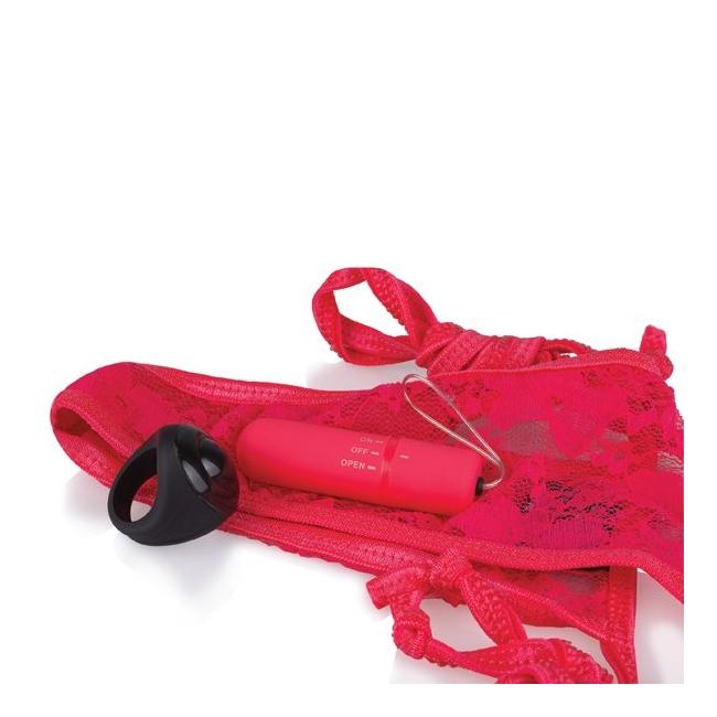 The Screaming O Giyilebilen  Kırmızı Kumandalı Vibratör