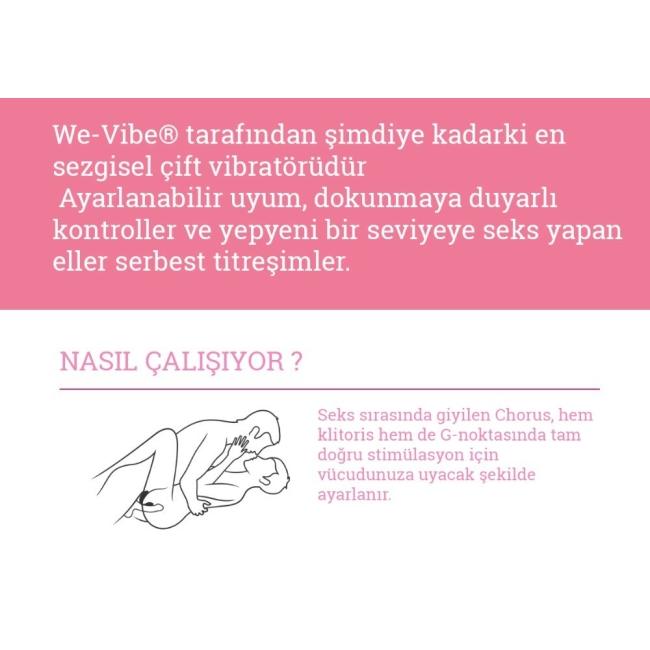 We-Vibe Chorus Çiftlere Özel Vibratör