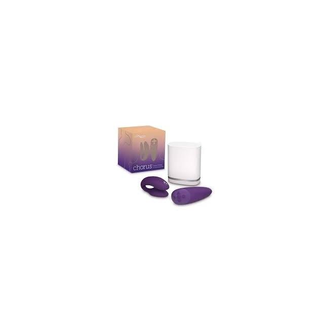 We-Vibe Chorus Purple Çiftlere Özel Telefon Kontrol Vibratör