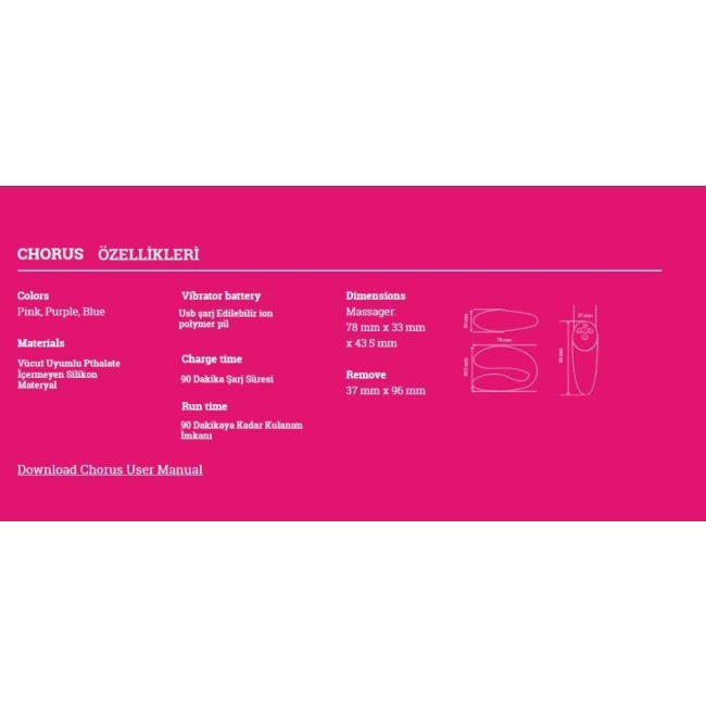 We-Vibe Chorus&Womanizer Premium Golden Moments Collection