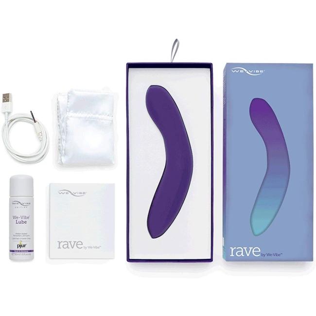 We-Vibe Rave Akıllı Telefon Kontrol G-Bölgesi Uyarıcı Vibratör