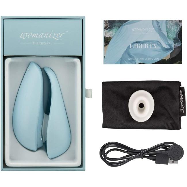 Womanizer Liberty Powder Blue Klitoral Smilasyon Vibratörü