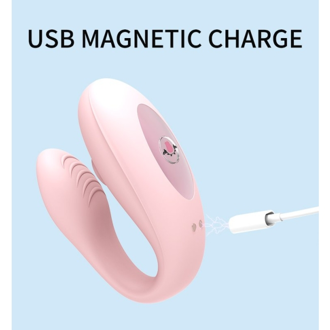 Wowyes A7 Emiş Yapabilen G-Spot ve Klitoris Uyarıcı Giyilebilen Kumandalı Vibratör