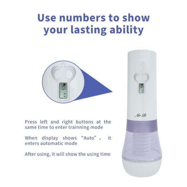 Wowyes B10 Şarjlı Titreşimli İleri Geri Hareketli Otomatik Sesli Vajina Mastürbatör