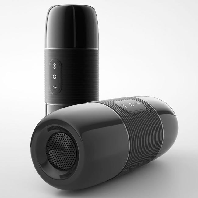 Wowyes B2 Bluetooth Kontrollü Vajina Mastürbatör&Müzik Çalar Hoparlörü