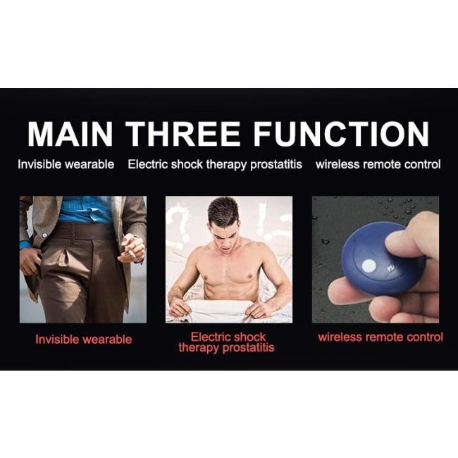Wowyes M19 Kumandalı Giyilebilen Elektiriksel Uyarıcı Prostat Masaj Vibratörü