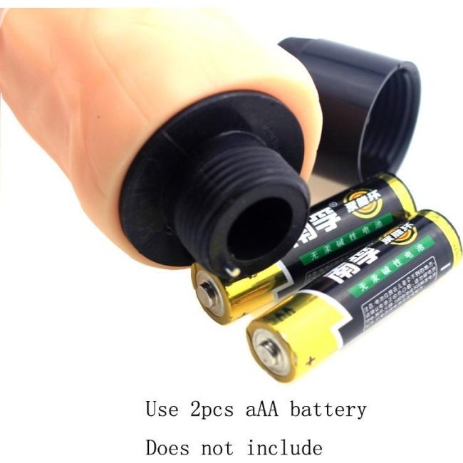 Yeain 17 Cm Realistik Yumuşak Dokuda Testisli Titreşimli Vibratör Dildo