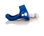 The Screaming O Blueberry Şarj Edilebilir Lacivert Penis Halkası