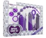 Toy Joy İmperial Rabbit Dark Mor 7 Parça Vibratör Seti