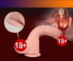 Xuania Super Real Skin Ultra Hızlı Dönebilen Titreşimli Realistik Penis